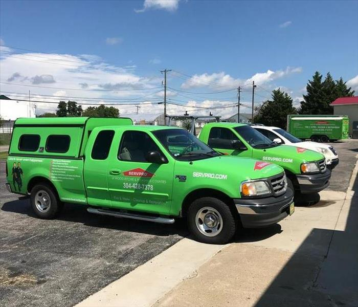General For Immediate Service in Wood, Ritchie, & Pleasants Counties, Call SERVPRO